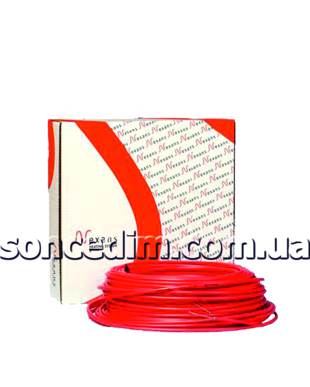 Двожильний нагрівальний кабель для антикригових систем та систем сніготанення з безмуфотовим з'єднанням та захисною алюмінієвою трубкою