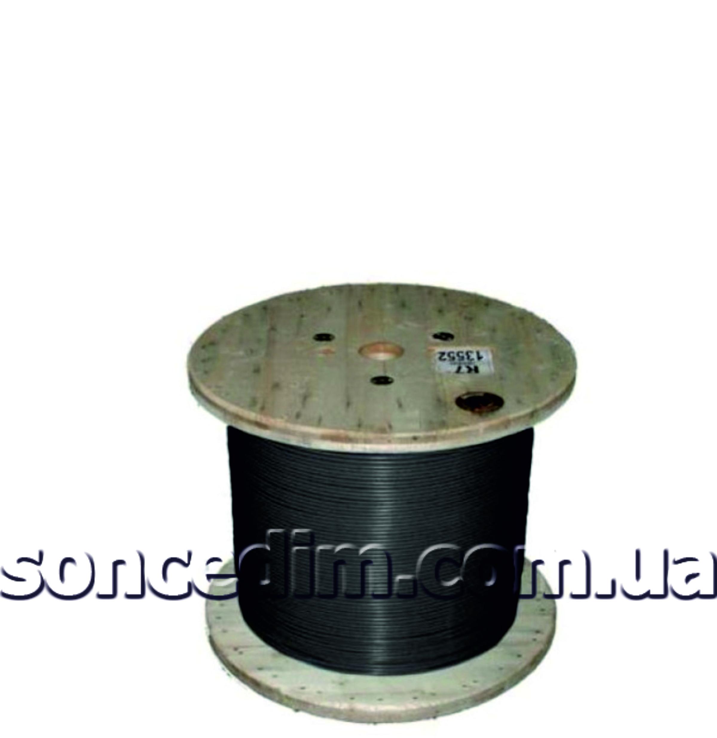 Одножильний нагрівальний кабель для обігріву дахів на барабанах з захисною алюмінієвою трубкою