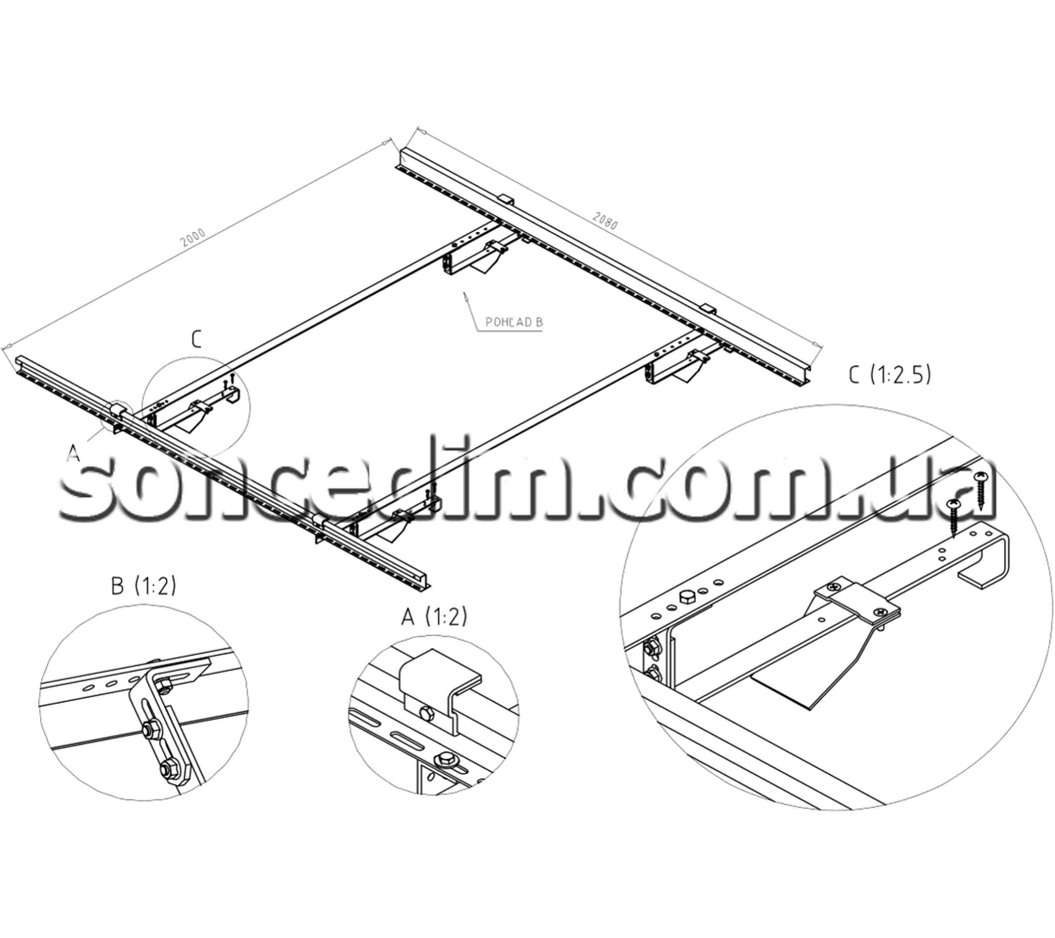 системи кріплення для сонячних батарей