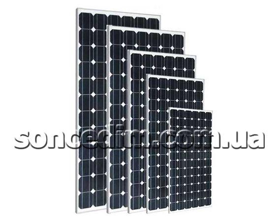 Панелі на монокристалічних фотоелементах