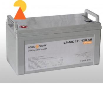Акумулятор мультигелевий LogicPower LP-MG-12-120 AH