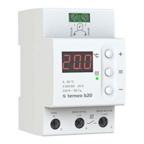 Терморегулятор на DIN-рейку terneo b20