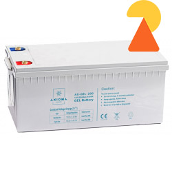 Гелевий акумулятор Axioma Energy AX-GEL-200 AH