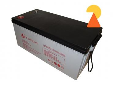 Карбоновий акумулятор Luxeon LX12-200C AH