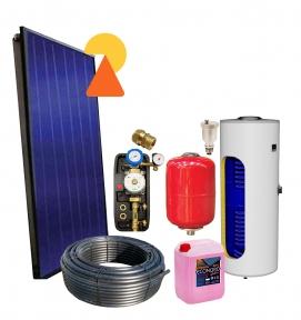 Геліосистема для підігріву води на 300л №2