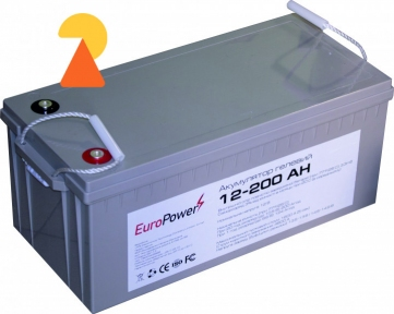 Гелевий акумулятор EuroPower GL-12-200 AH