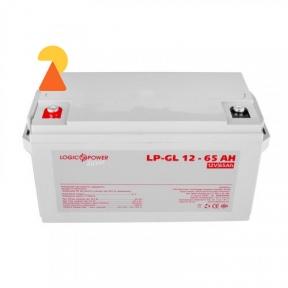 Гелевый аккумулятор LogicPower LP-GL-12-65 AH