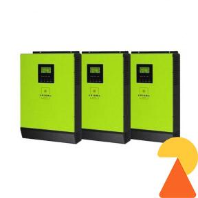 Гібридний інвертор AXIOMA Energy ISGRID4000 на 12 кВт
