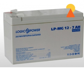 Мультигелевый аккумулятор LogicPower LP-MG-12-7 AH