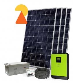 Гібридна сонячна електростанція 12кВт