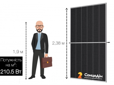 Сонячна панель Trina Solar Vertex TSM-DEG19C-550M