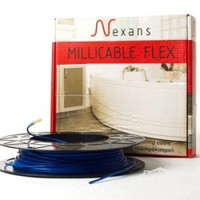 Двожильний нагрівальний тонкий кабель Nexans Millicable Flex 15 1050 W