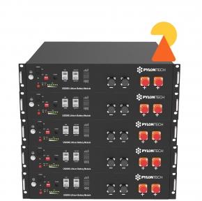 Літієвий акумуляторний блок Pylontech LV 6.6 ( 6.6кВт*год, 48 B)