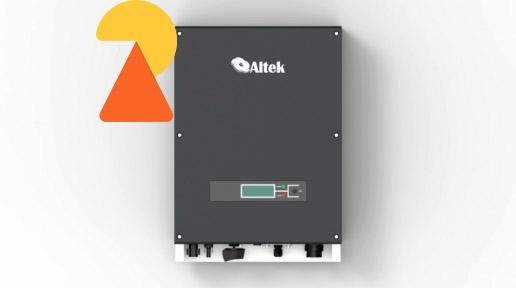 Мережевий інвертор Altek AKSG-15K-DM - 15кВт