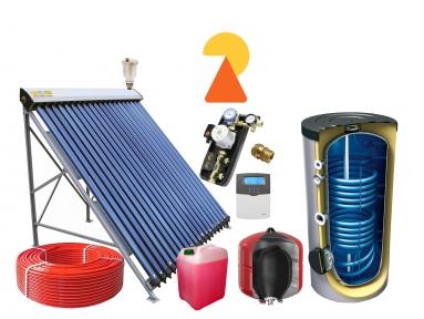 Геліосистема для підігріву води на 200л