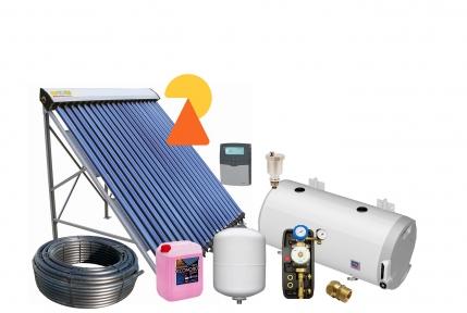 Геліосистема для підігріву води на 150л №2