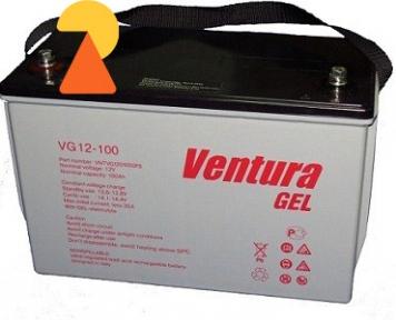 Гелевий акумулятор Ventura VG-12-100 AH