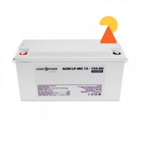 Мультигелевий акумулятор LogicPower LP-MG-12-150 AH