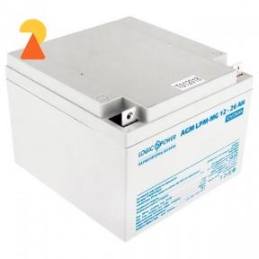 Мультигелевый аккумулятор LogicPower LPM-MG-12-26 AH