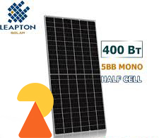 Сонячна панель Leapton LP158*158-M-72-H-400M