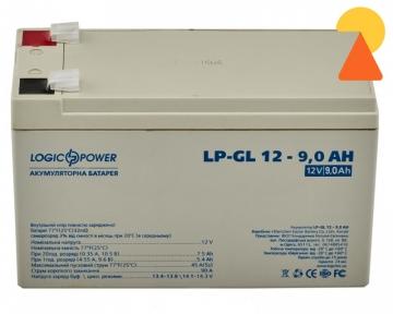 Гелевый аккумулятор LogicPower LP-GL-12-9 AH