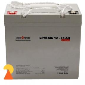 Мультигелевий акумулятор LogicPower LPM-MG-12-55 AH