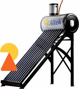 Термосифонна напірна  геліосистема Altek SP-H1-24