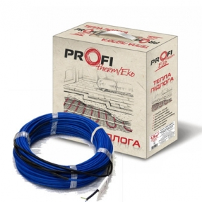 Тонкий двожильний нагрівальний кабель Profi Therm Eko FLEX 2000