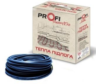 Двожильний нагрівальний кабель PROFI THERM Eko -2 16,5 2670 Вт