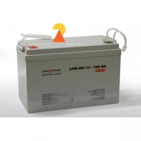 Гелевий акумулятор LogicPower LPM-GL-12-100 AH
