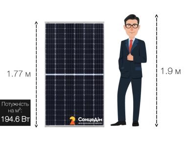 Солнечная батарея Inter Energy IE158-M120-360M