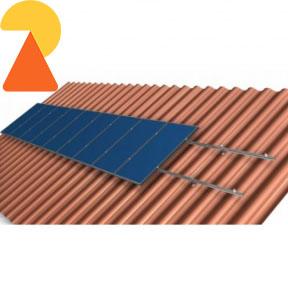 Кріплення для 4-ох сонячних панелей (потужністю від 280 - 350 Вт)