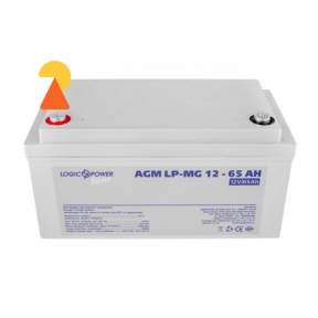 Мультигелевий акумулятор Logic Power LP-MG-12-65 AH