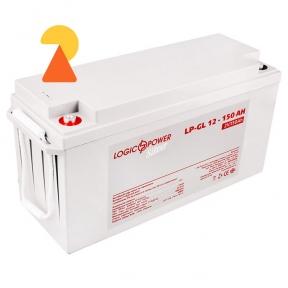 Гелевий акумулятор LogicPower LP-GL-12-150 AH