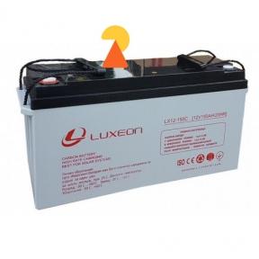 Карбоновий акумулятор Luxeon LX12-150C AH