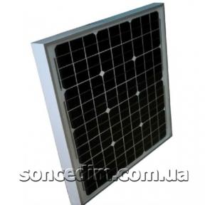 Сонячна батарея (монокристал), 30W, 12V, Altek ALM-30M