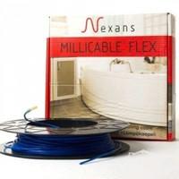 Двожильний нагрівальний тонкий кабель Nexans Millicable Flex 15 375 W