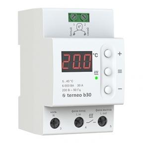 Терморегулятор на DIN-рейку terneo b30